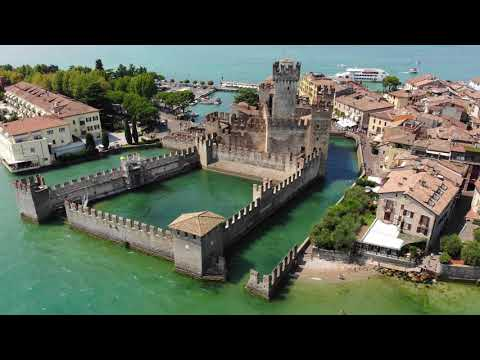 Beautiful Lake Garda (Italy) AERIAL DRONE 4K VIDEO