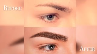 How to: Fake FULL/BUSHY Eyebrows for Men and Women