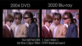 TM NETWORK【Get Wild】 8/26発売Blu-rayより2020年リマスター比較映像公開!