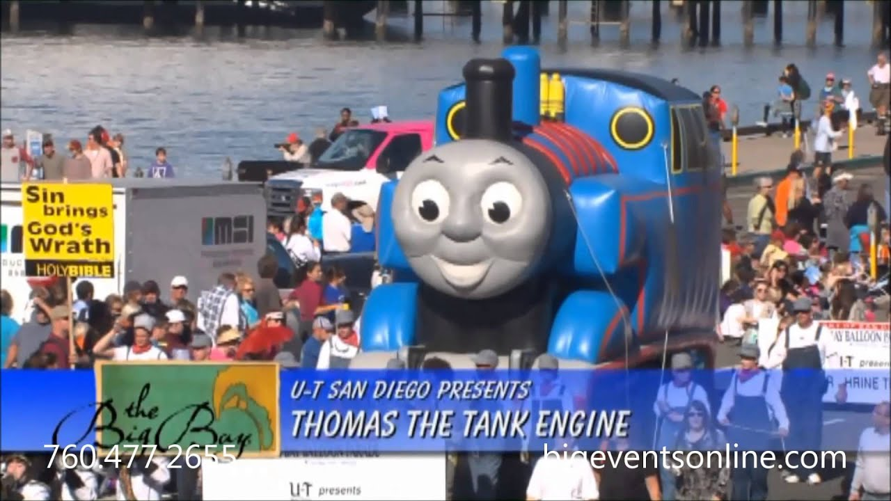 Giant Parade Inflatable, Thomas the Tanks Train Outdoor ...
