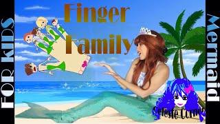 FINGER FAMILY (Mermaid ) Family Sing Along with Celestial Mermaid