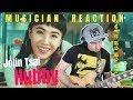 "MUSICIAN REACTS | Jolin Tsai 蔡依林 - ""HUBBY 腦公"" Reaction + Guitar Cover/Lesson"