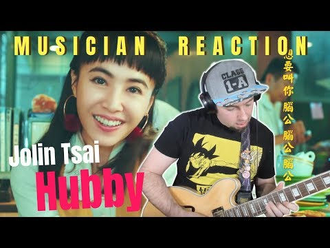 "MUSICIAN REACTS | Jolin Tsai 蔡依林 - ""HUBBY 腦公"" Reaction + Guitar Cover/Lesson"