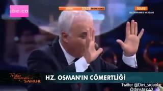 Nihat Hatipoglu - Sahur - Hz. Fatıma'nın Hayatına Yolculuk (03.07.2014)