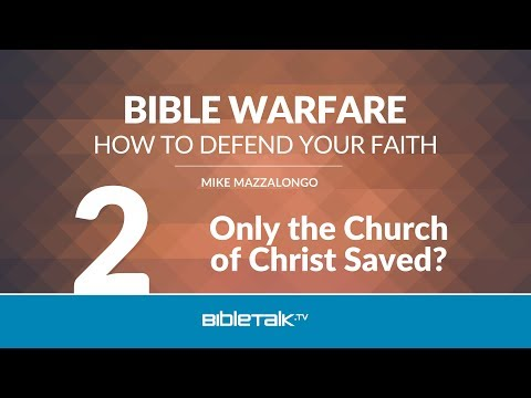Only the Church of Christ Saved?