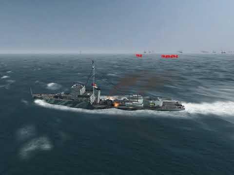 Silent Hunter 3 bigger convoy destroyed