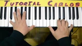 Desde mi interior Hillsong -    Tutorial Piano Carlos
