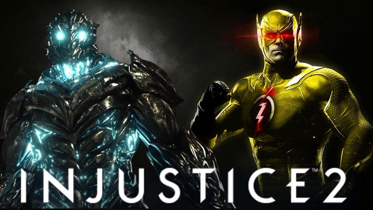 Injustice 2 Top 10 Flash Skins Savitar Kid Flash Zoom Impulse