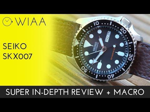 Seiko SKX007 Watch Review