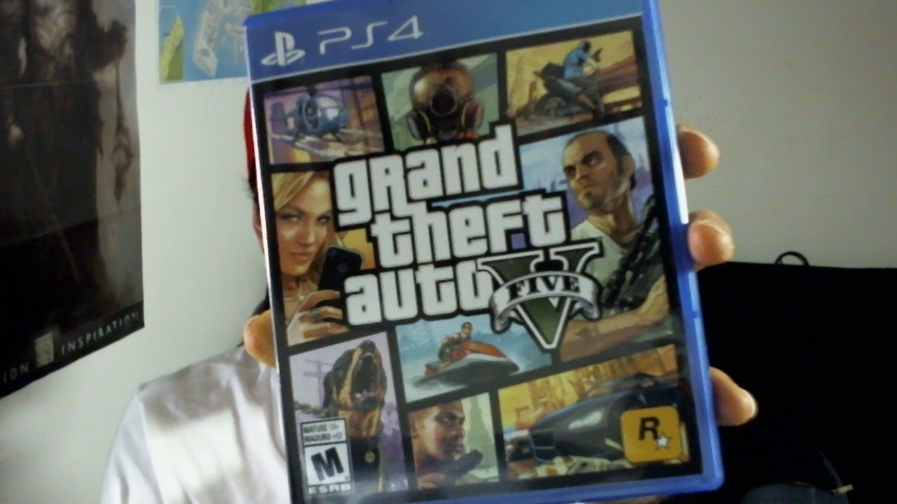 Grand Theft Auto V Version Fisica Para Ps4 Youtube