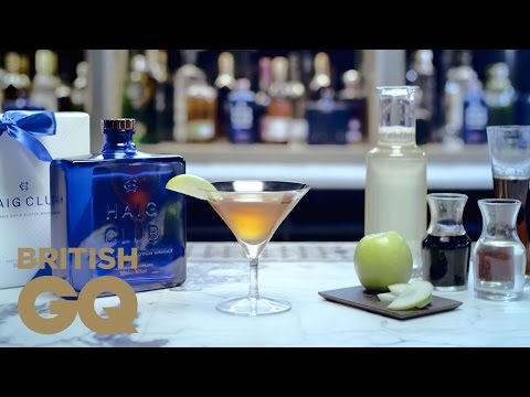 How to Make the Apple Manhattan | In the Mix Haig Club Cocktails | British GQ