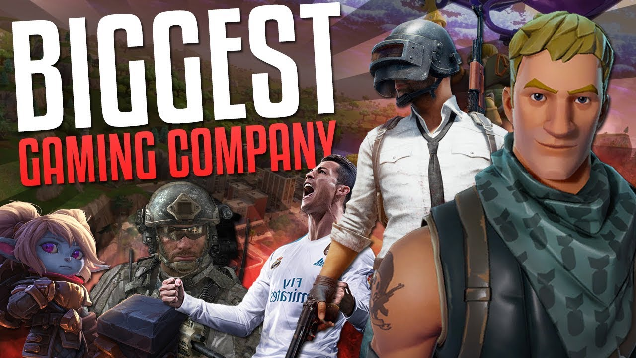 ca7af48dc The Biggest Gaming Company You've Never Heard Of... - YouTube
