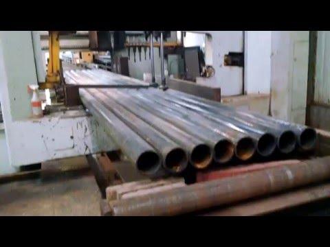 Bundle cutting cut to size pipe columns