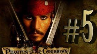 Pirates of the Caribbean: Legend of Jack Sparrow (PS2, PC) Walkthrough Part 5 - [100% Map Pieces]