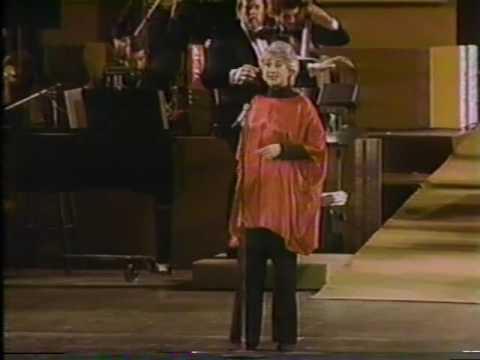 Beatrice Arthur--Hey Look Me Over, Wildcat, 1982 TV