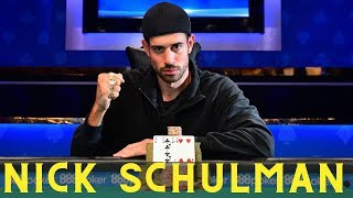 Nick Schulman Wins his THIRD World Series Of Poker Bracelet