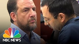 Former Gymnastics Coach Thomas Brennan Slams Larry Nassar For Sexual Abuse | NBC News thumbnail