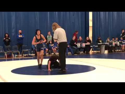 Kai Wrestling Match at Northshore Middle School