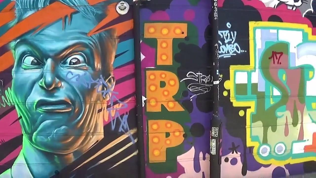 London Graffiti Town Youtube