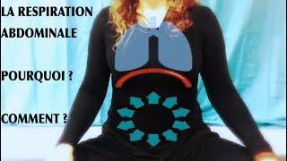 La respiration abdominale : pourquoi et comment ?