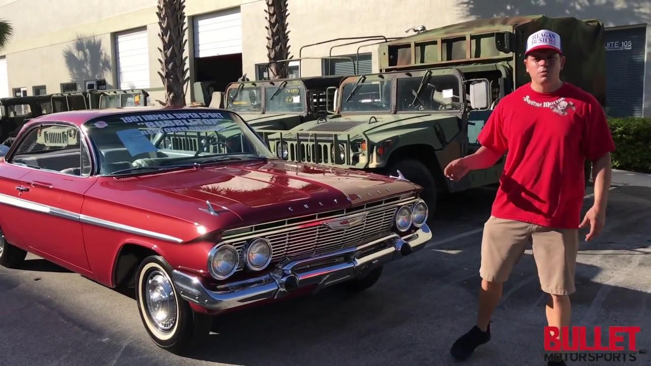 1961 Chevrolet Impala Ss Real Deal Walkaround Hd Bullet Chevy Motorsports Inc