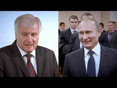 Un visita a Moscú tensa aún más las relaciones entre la CDU de Merkel y sus socios bávaros de la CSU