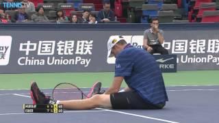 Murray Keeps Isner Grounds In Shanghai 2015 Hot Shot