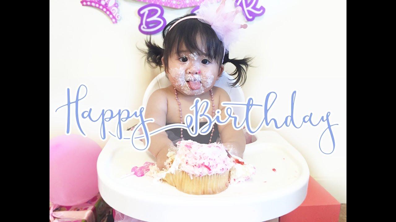 Funny First Birthday Cake Smash