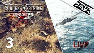 Sudden Strike 4 - 3.Rész (The Pacific War DLC / Amerikai kampány) - Stark LIVE