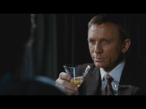 James Bond has a chronic drinking problem - Otago Uni researchers say