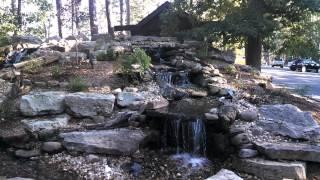 Waterfall at Eureka Springs/Oakcrest Treehouse