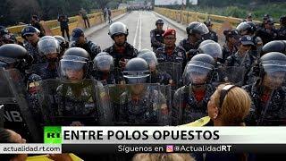 Caracas denuncia una provocación de la oposición en la frontera con Colombia