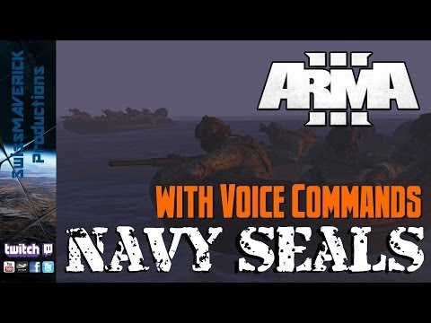 NAVY SEALS - ARMA 3 Gameplay with Voice Commands