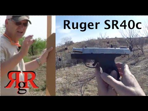 Ruger SR40c On the Range Review
