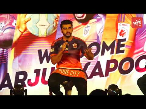 Arjun Kapoor Becomes Brand Ambassador & New Co-Owner Of ISL Team FC Pune City |  YOYO Times