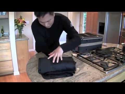 Как уложить костюм в чемодан