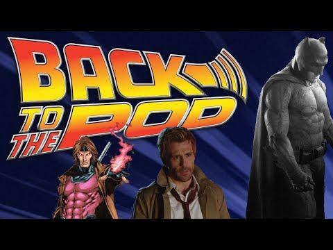 Back to the POD Episode 43, Sad Batman/Hot Batmobile