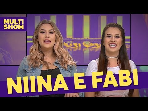 Eu Ou Ela  Niina e Fabi  TVZ Ao Vivo  Música Multishow
