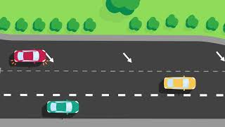 How to merge saḟely on a freeway