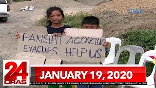 24 Oras Weekend Express: January 19, 2020 [HD]