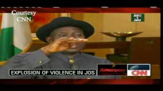 Goodluck Jonathan Speaks Amanpour On CNN.[Full Interview]