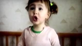 Приколы про детей. Девочка рассказывает как зовут ее родственников, но ее папу зовут