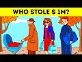 Can You Catch The Thief 11 Brain Games With Answers   Crime Riddles