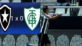 Botafogo 1 x 0 América-MG - Melhores Momentos & Gol(1° Tempo)