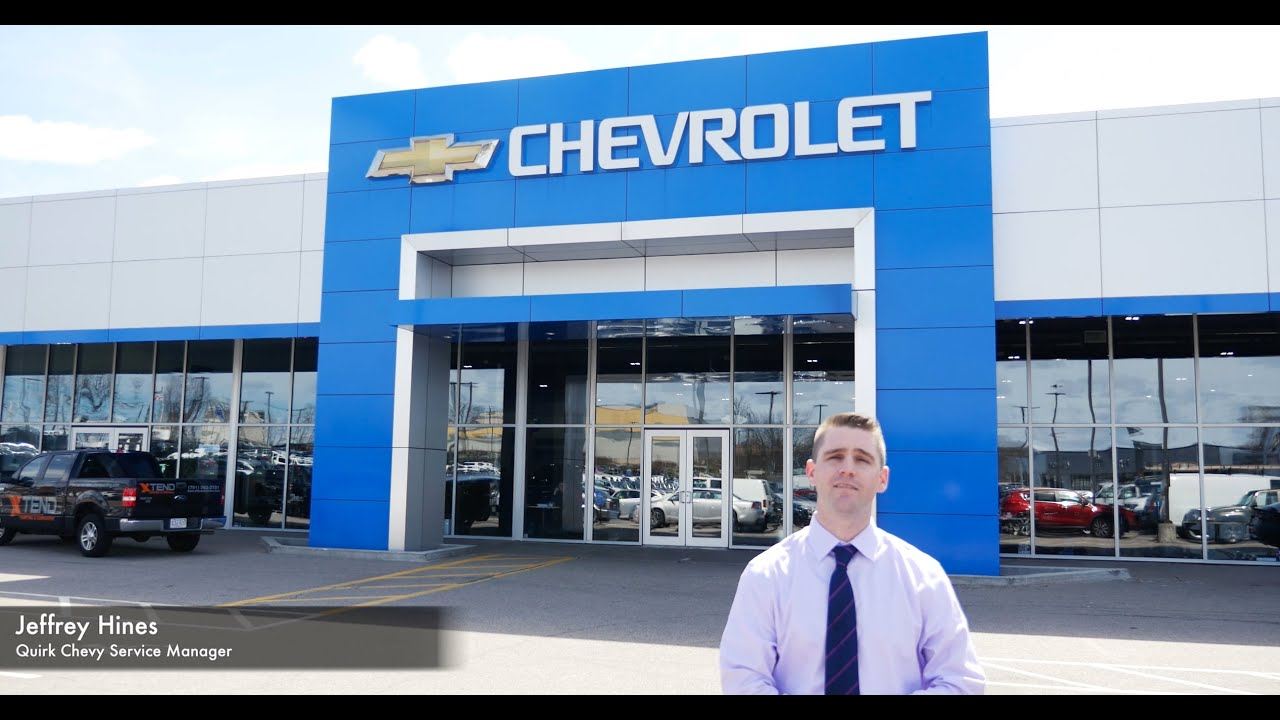 Welcome To Quirk Chevy Service