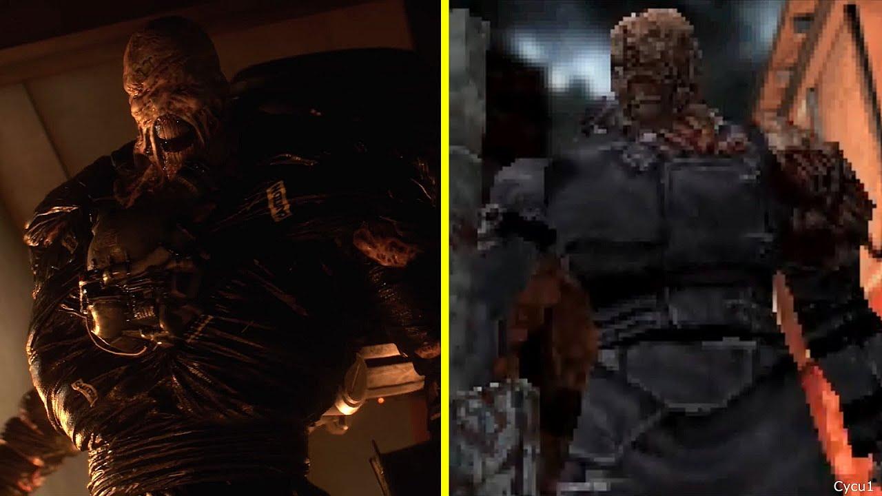 Resident Evil 3 Remake Vs Original Vs Resident Evil 2 Remake Early