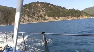 джанхот  просковеевка 07 июля 2010г прогулка по морю