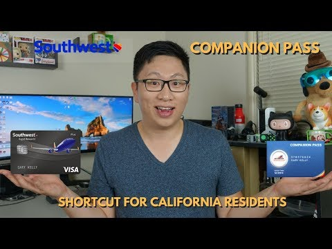 Southwest Companion Pass Update (for 2018+2019) & Shortcut (for 2018 only)