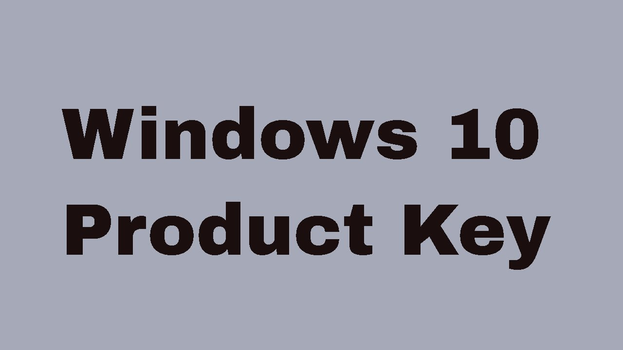 how to find out your windows 10 product key