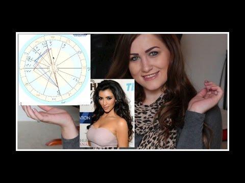 How To Read A Birth Chart Kim Kardashian Youtube
